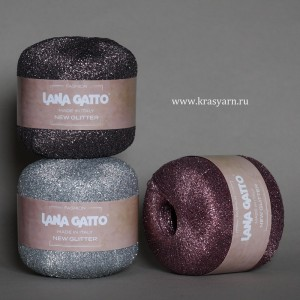 Пряжа Lana Gatto New Glitter